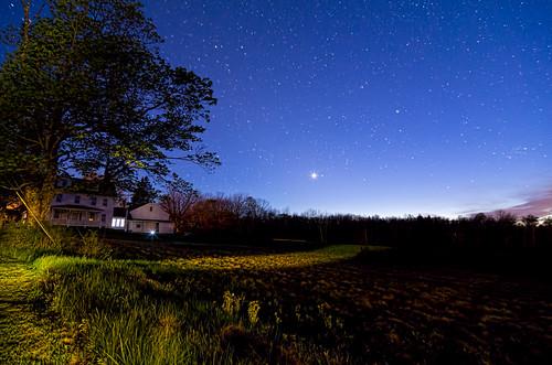 sky night farmhouse stars star farm maine trails deer nighttime pro nik isle topaz adjust denoise colorefex