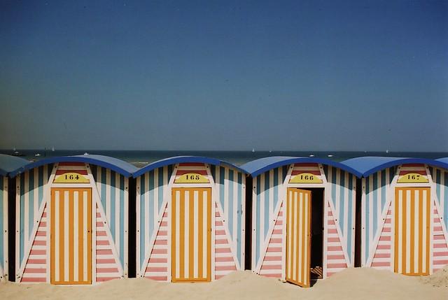 Les cabines de Malo-les-Bains