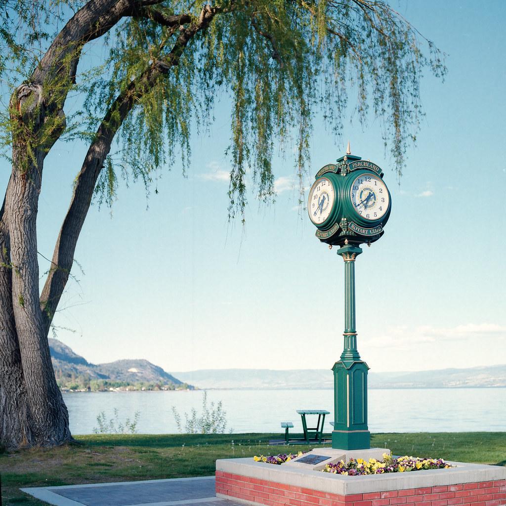 Lakeside Clock by christian.senger