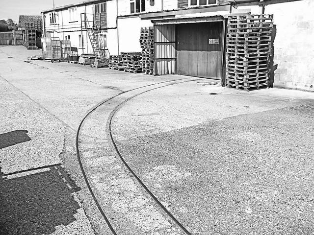 Abandoned 2 foot gauge rails in Norfolk. 26 05 2013