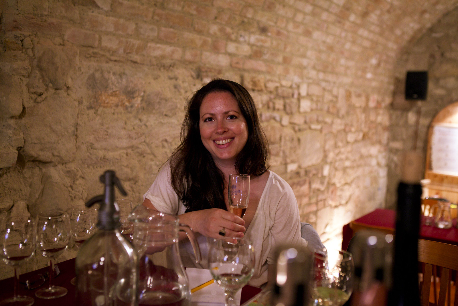 Mon at the Faust Wine Cellar