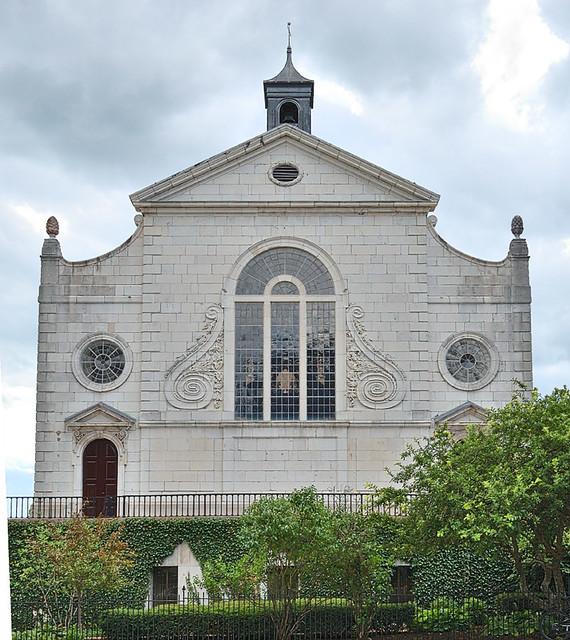 Church of Saint Mary the Virgin, Aldermanbury, in Fulton, Missouri, USA - exterior back