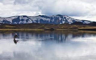 Fishing in Veiðivötn, central highlands - Iceland | by skarpi - www.skarpi.is