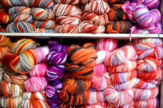 yarn store, Quito