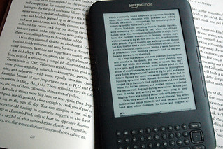 Kindle and Book | by jamjar