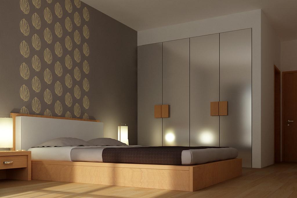 Bedroom Decoration 3d Max Vray Render Some Old Work C Flickr