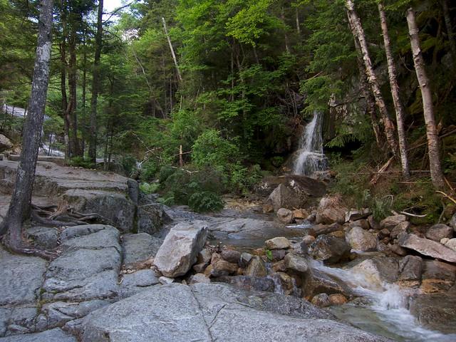 0:50:06 (14%): waterfall hiking newhampshire whitemountains franconianotch mtlafayette fallingwaterstrail mtlincoln franconiarange