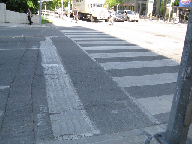 Fri, 06/03/2011 - 19:35 - Indirect Turn Waiting Area on Sherbourne and Bloor