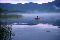 Blue on Lago de Atitlan