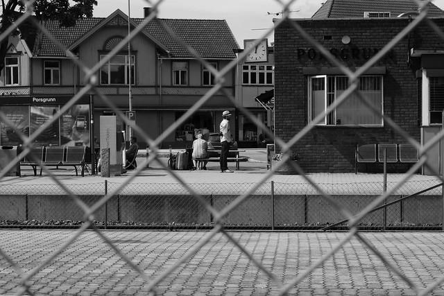 Porsgrunn train station