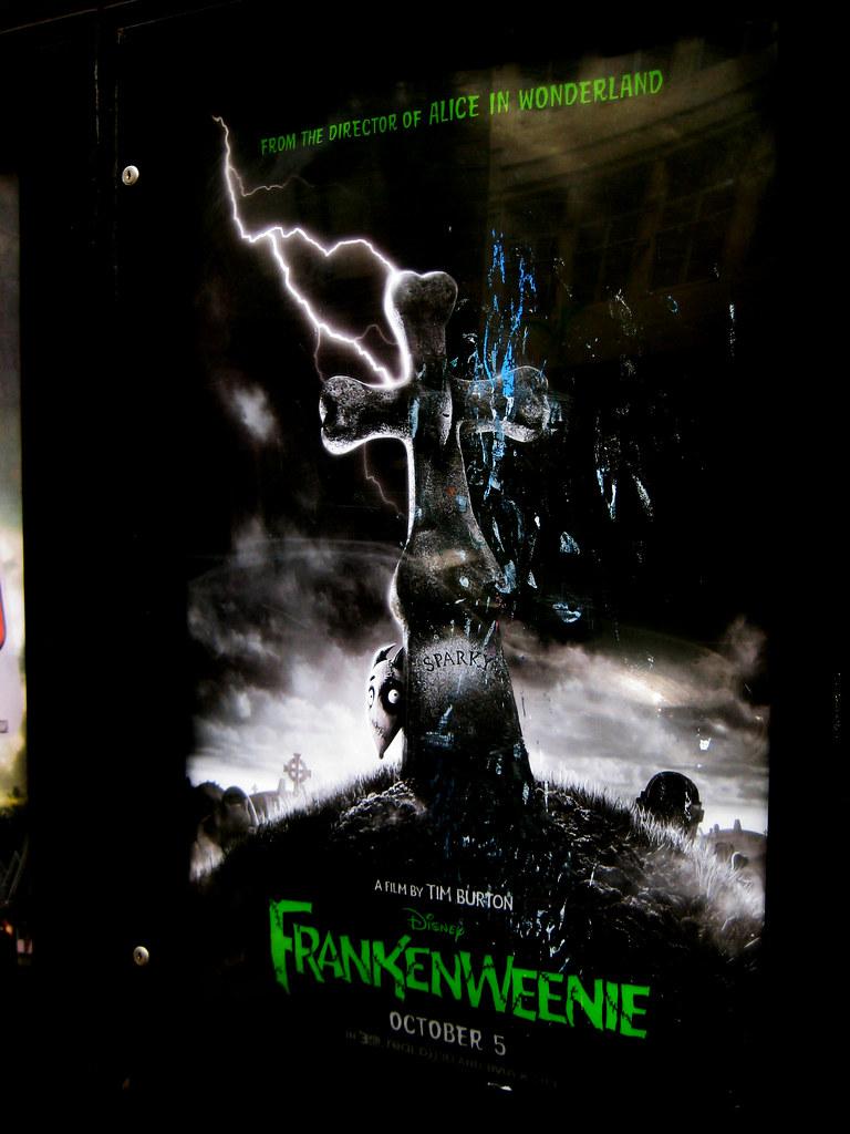 Frankenweenie Dog Movie Poster 2729 Frankenweenie Poster W Flickr