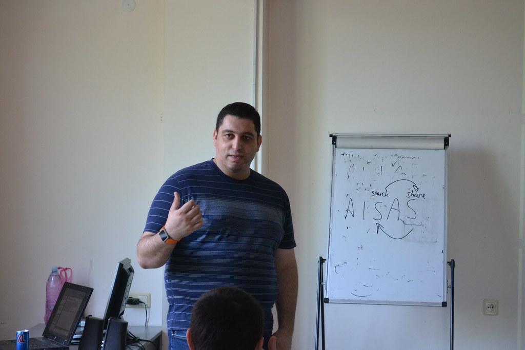 David Birman at PRSchool