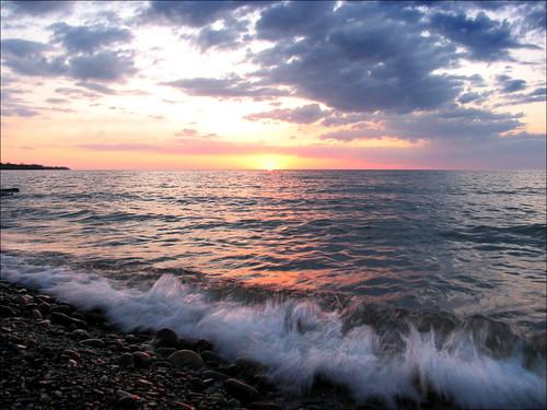 sunset ohio lakeerie picnik saybrook ashtabulacounty picmonkey