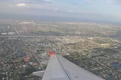 Aterrant prop de Miami (Florida, USA)