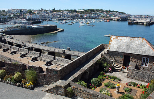 St Peter Port from Castle Cornet | by arripay