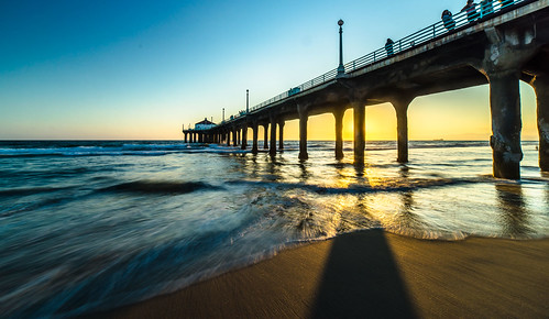 Sunset at the pier | by charlie617