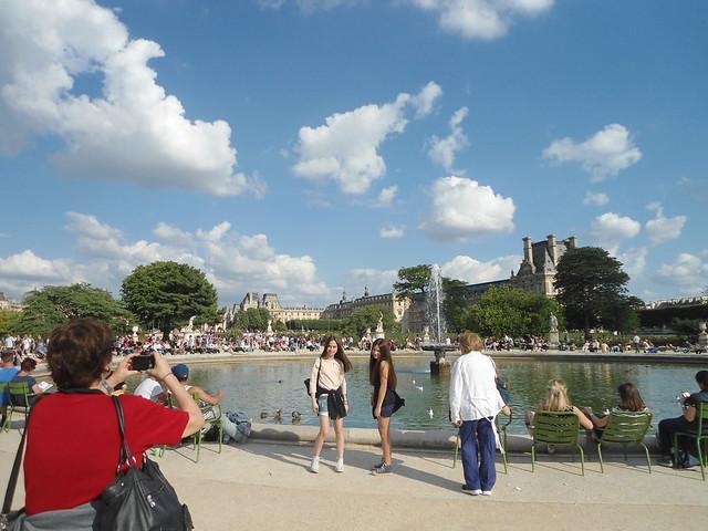 14 de julio, Jardín de las Tullerías & El Louvre, París, Francia/The Fourteenth of July (Le quatorze juillet), Jardin des Tuilleries & Louvre, Paris 2014, France – www.meEncantaViajar.com