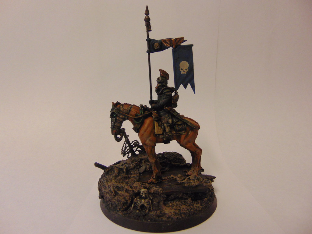 Death Korps Of Krieg Deathrider Colonel Justin Cottrell