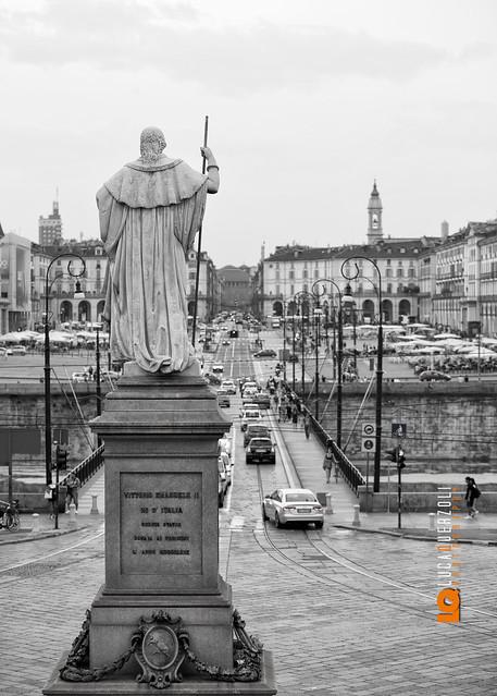 Piazza Vittorio Vista dalla Gran Madre