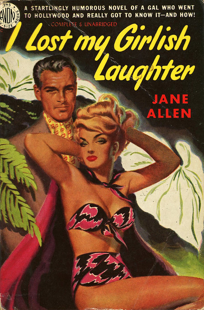Avon Books 345 - Jane Allen - I Lost My Girlish Laughter
