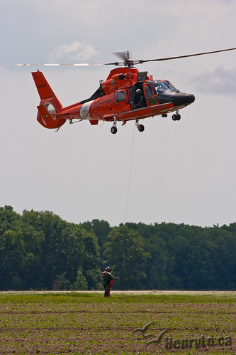 US Coast Guard HH-65C Dolphin | by Henry_Lo