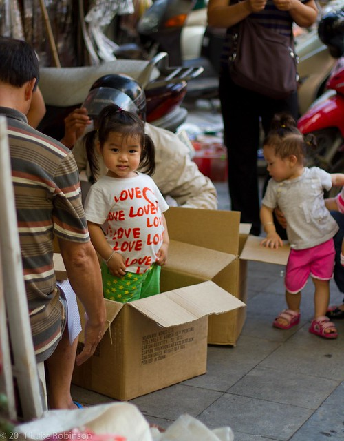 Jack-in-the-box, Old Quarter, Hanoi