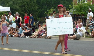 Girl Scouts, Takoma Park 4th of July parade 2011 | by jmlwinder