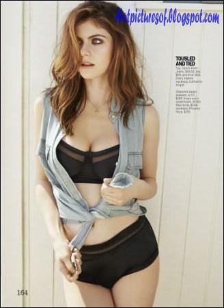 Alexandra Daddario Hot Photoshoot