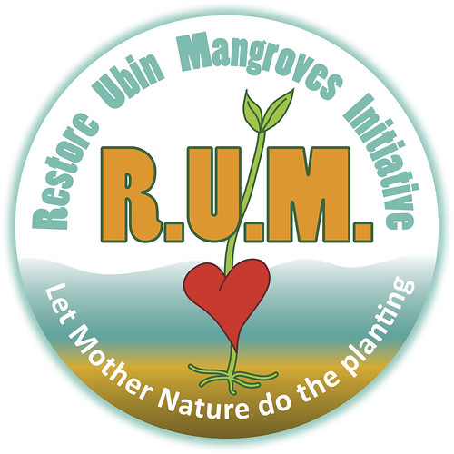 Restore Ubin Mangroves (R.U.M.) Initiative logo
