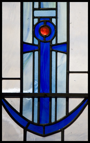 Stained glass Anchor | by Lawrence OP