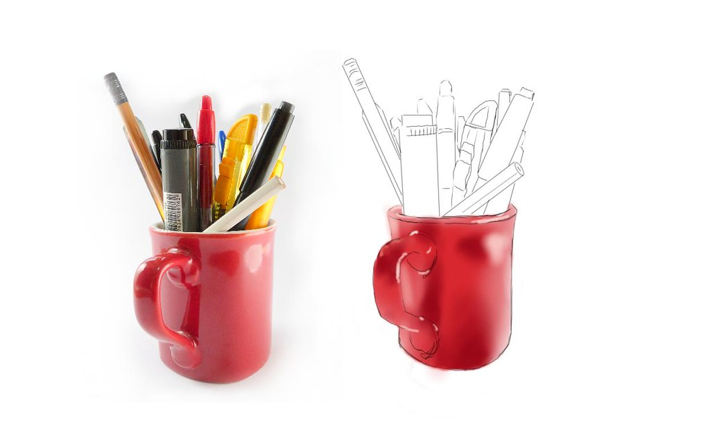 Autodesk Sketchbook PRO | Red Cup | Germano Bisson | Flickr