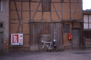 That  Thüringer Coke machine in full, Mehmels (?), nr Wasungen, August 1991