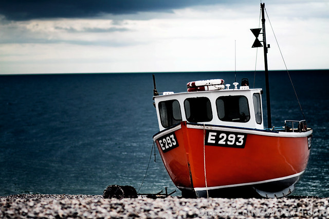 Devon Fishing Boat