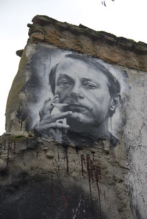 Michel Houellebecq painted portrait _DDC2379 | by Abode of Chaos