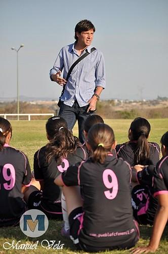 DSC_0166 Gabriel Pereyra, visitó a las 'Franjitas' en su campamento de 'Los Olivos' por LAE Manuel Vela