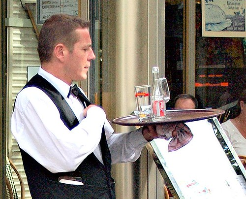 waiter | by zoetnet