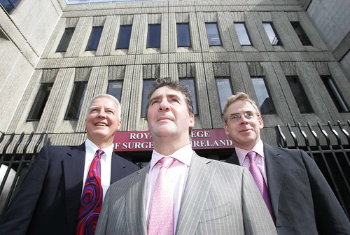 Dr Michael W. Brennan, Mr Paul Moriarty and Mr Mark Cahill