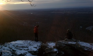 Friends on the AT at bears den overlook | by mmeiser2