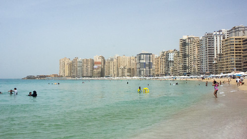 Another overview for the beach in Sidi Bishr   by Kodak Agfa