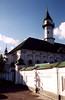 Kazaň, Mardžaniho mešita s minaretem ze střechy, foto: Petr Nejedlý
