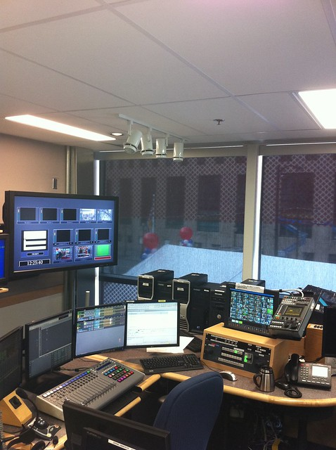 CBC TV Control Room
