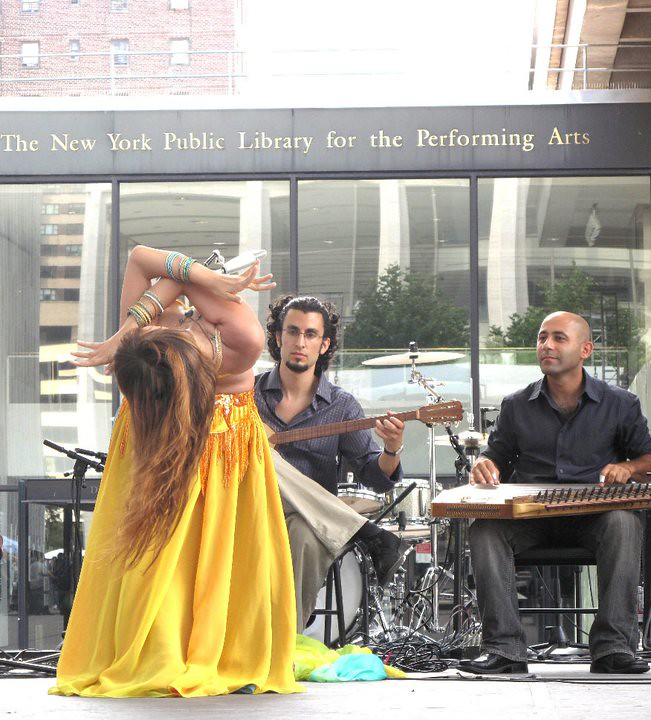 at Lincoln Center with Zikrayat