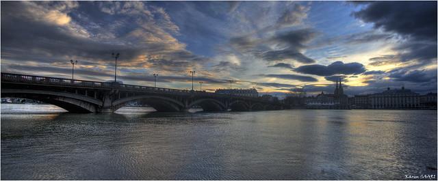★ Panorama de Bayonne, le pont saint esprit ~ Karim SAARI ©