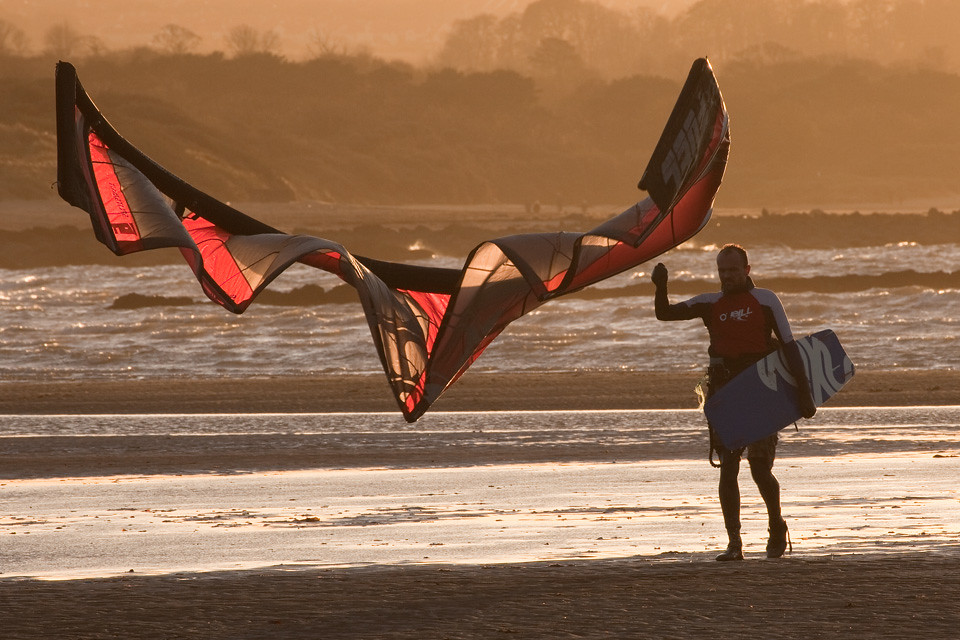 Kite surfer 3
