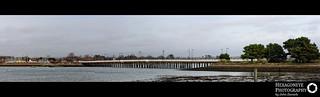 10/365 Hayling Bridge Panorama   by Hexagoneye Photography