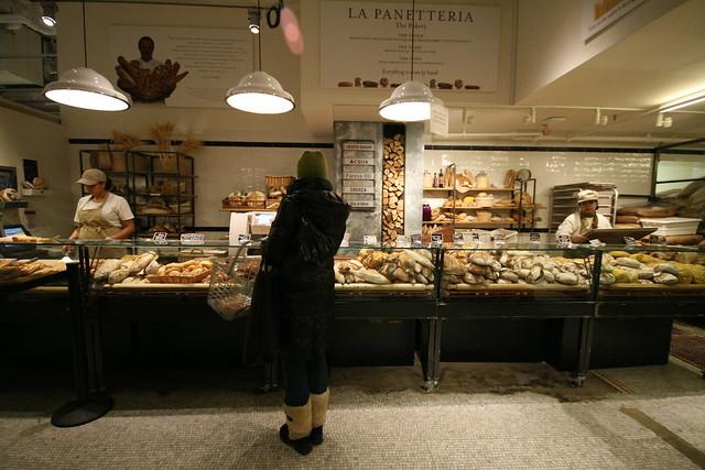 Bakery at Eataly, NYC
