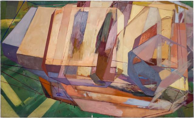 90x150cm,Eitempera/Pigmente auf Nessel,2010