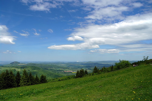 "A beautiful day on ""Wasserkuppe""/Rhön-Germany-2 
