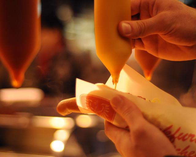 Frankfurter with Mustard