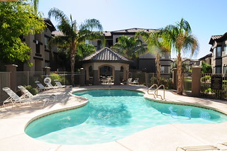 Pool with Cabana | by Weidner Apartment Homes